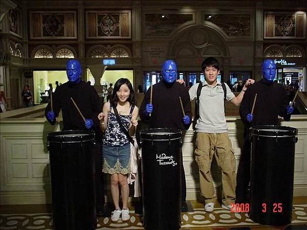 Blue Man in Venetian