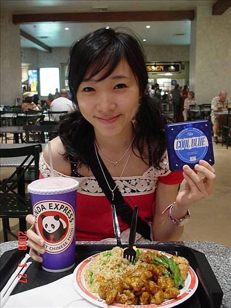 吃連鎖熊貓快餐
