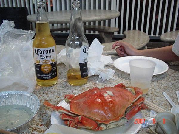 這是我吃過最好吃的螃蟹