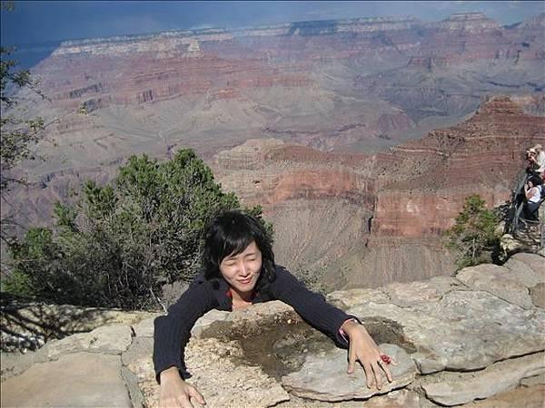 我掉下去了啦!差點上新聞orz