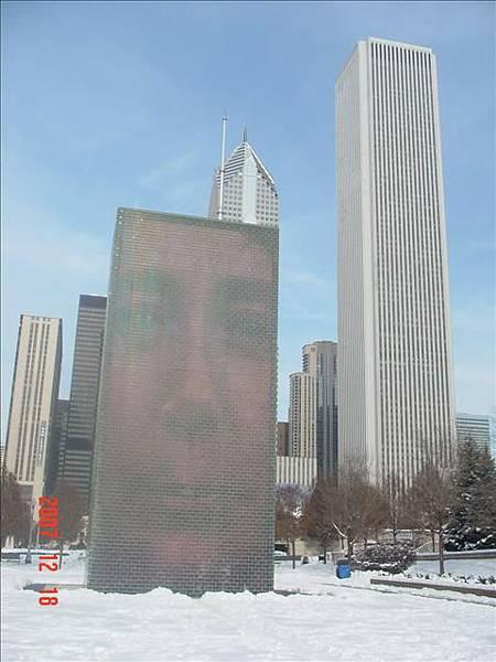 運用芝加哥市民的臉