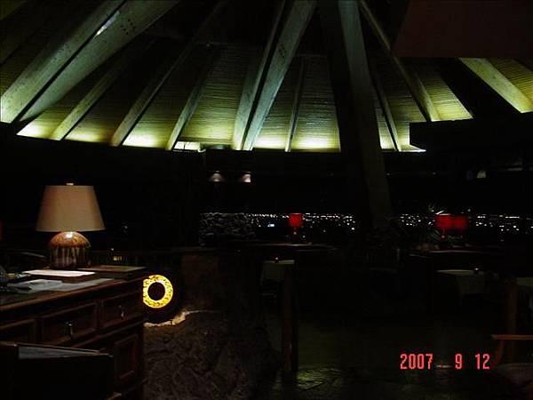 豪華餐廳內部