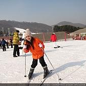 滑雪臂力實在要很強