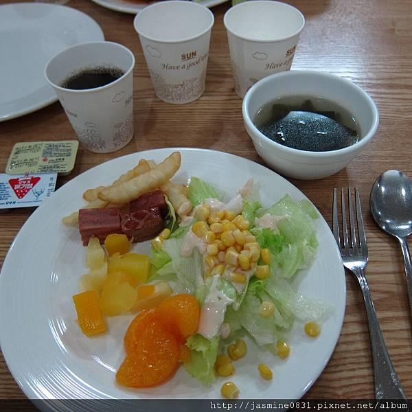 大明度假村的早餐