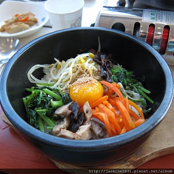 韓國吃的韓式拌飯