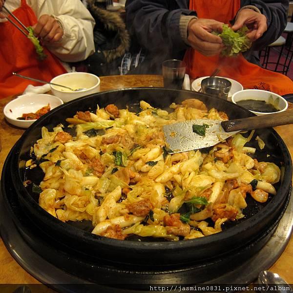 最有名的春川雞辦飯