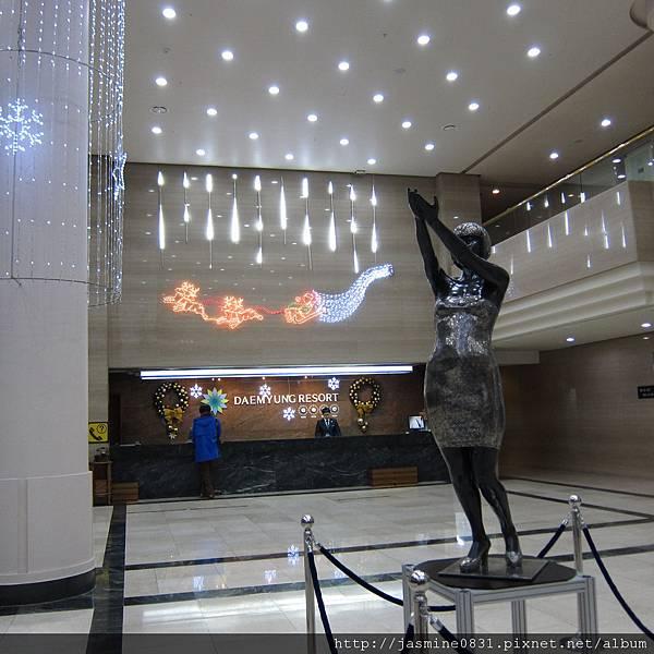 陽平大明度假村lobby