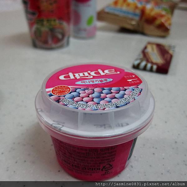 終於吃到的彩虹球球冰