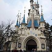 可愛的城堡 - 可惜天氣不好...
