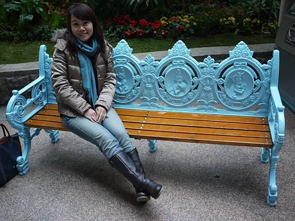 可愛藍的椅子