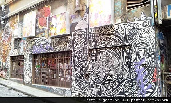 塗鴉牆 style 2