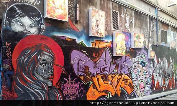 塗鴉牆 style 5