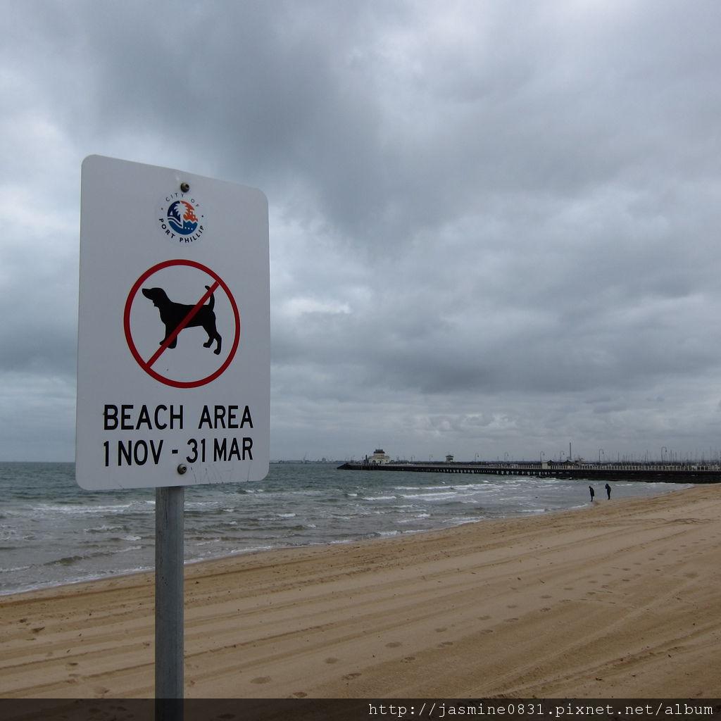 dog prohibit sign