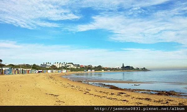 美麗的Brighton Beach