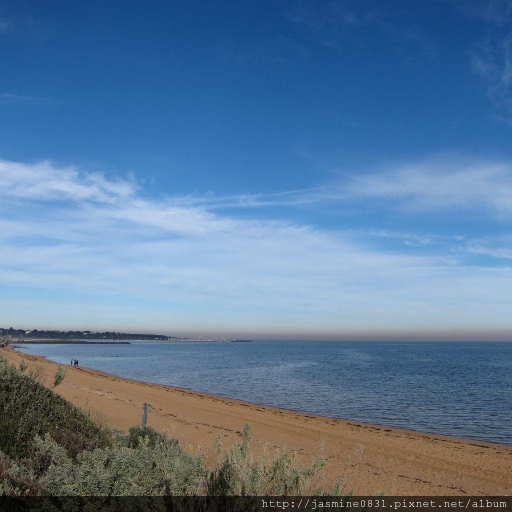 好美的Brighton beach