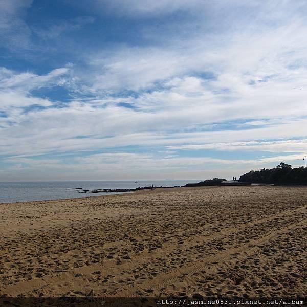 綿延的沙灘
