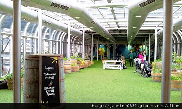 Melbourne Central的綠地