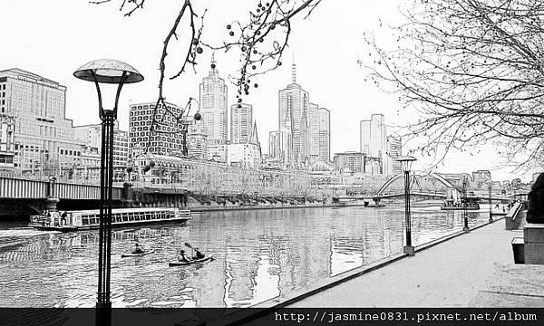 Riverside Sketch