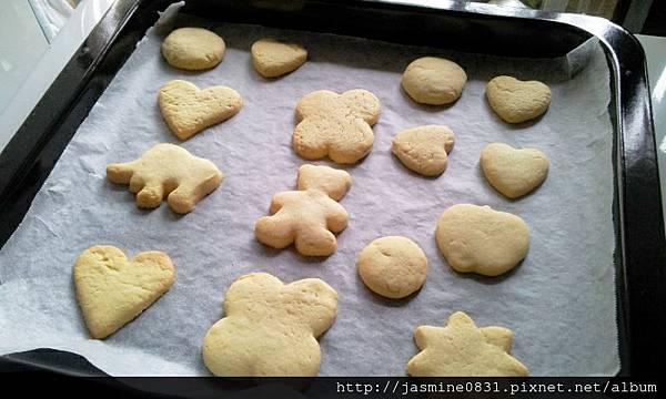 白胖胖的餅乾們