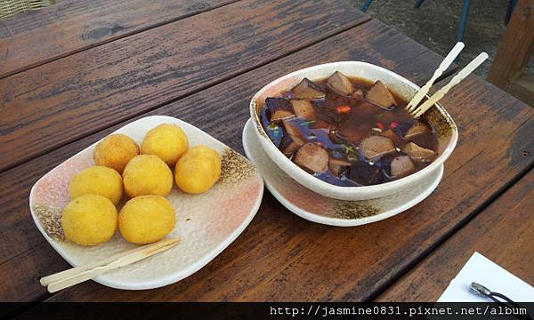 滷豆干+炸芋丸 (2)