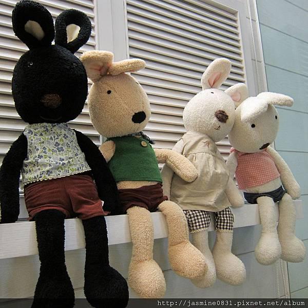 傻里傻氣的兔兒們 (2)