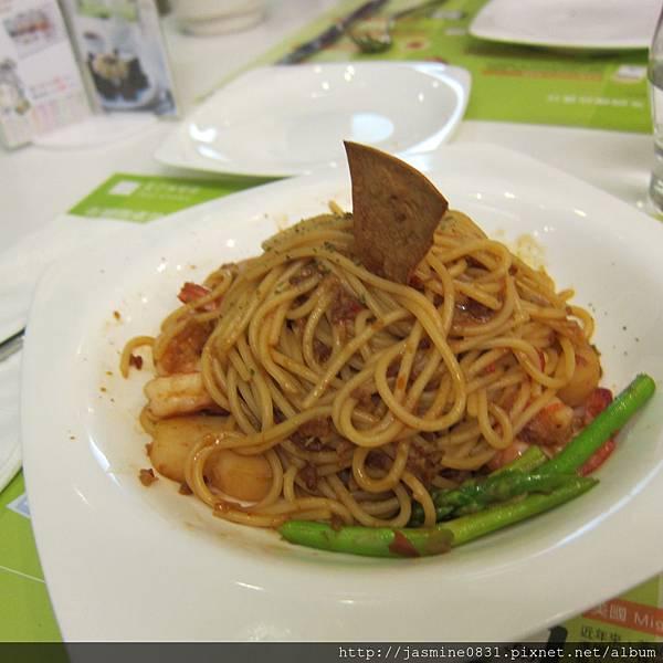 XO醬干貝義大利麵