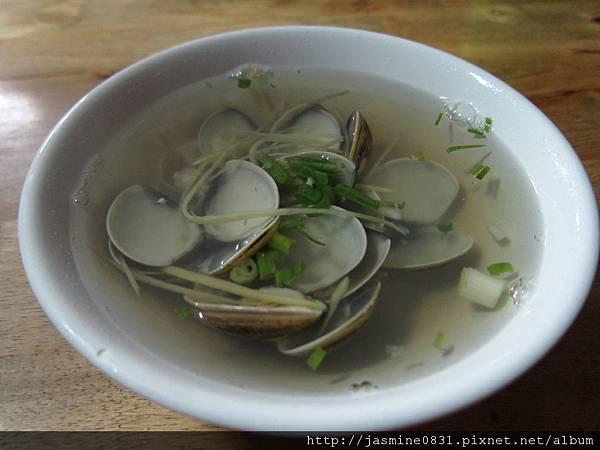 海埔的蛤仔湯