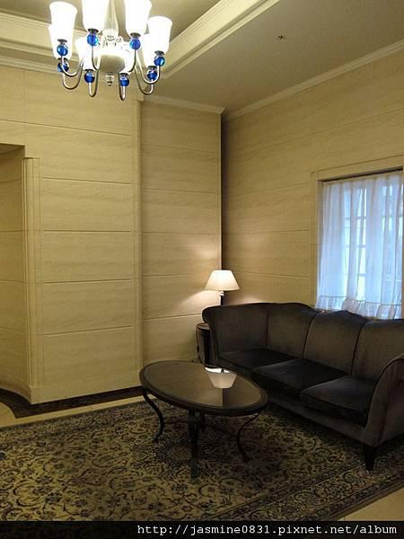 大廳的休息區