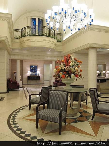 氣派的飯店大廳