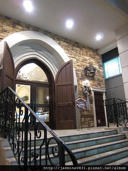 教堂的門口