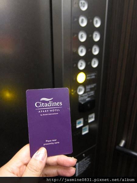 感應卡電梯