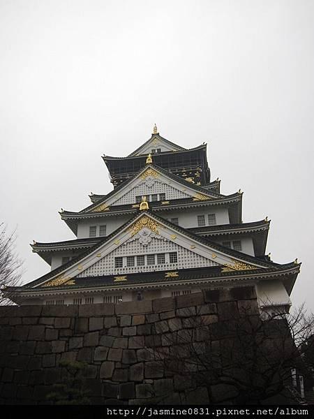 大阪城正面