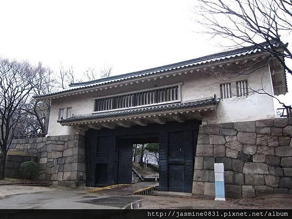 大阪城門 (2)