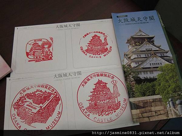 大阪城紀念章