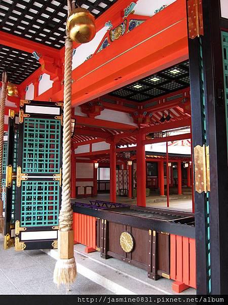 生田神社的大鈴 (2)