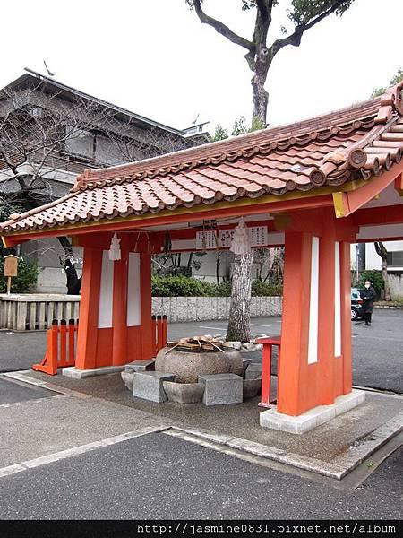 生田神社淨手處