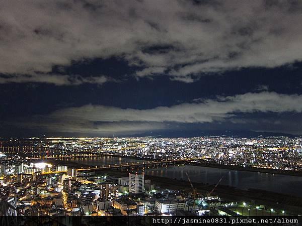 好美的大阪夜景 (2)