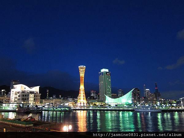 神戶港夜景 (2)