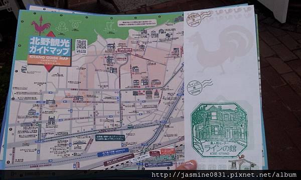 北野觀光地圖