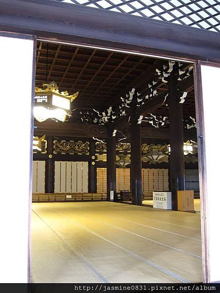 東本願寺 御影堂內