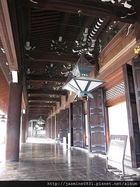 東本願寺 御影堂廊道 (6)