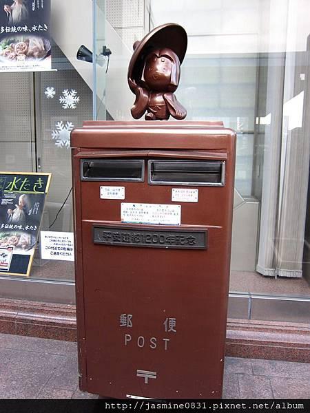 京都郵局的Q阪郵筒