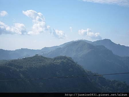 好美的阿里山山景