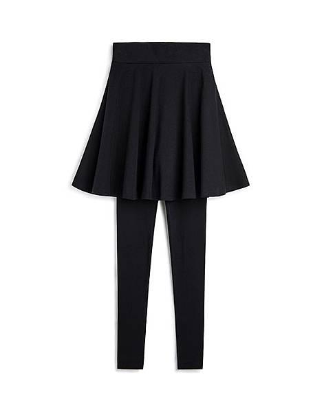MIT 芭蕾圓舞曲高腰裙襬內搭褲