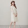 小法國蕾絲花瓣領長洋裝.jpg