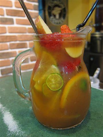 新鮮水果茶~