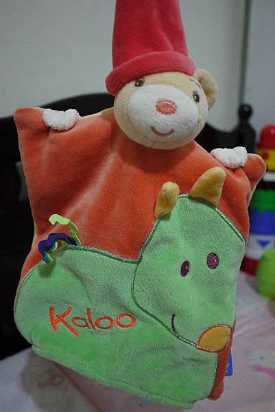 KALOO手偶安撫巾
