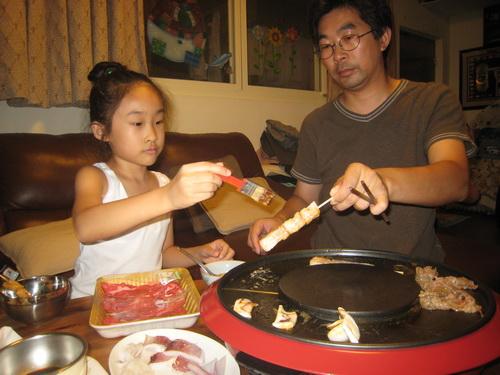 990918_在家吃烤肉_5.JPG