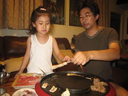 990918_在家吃烤肉_6.JPG