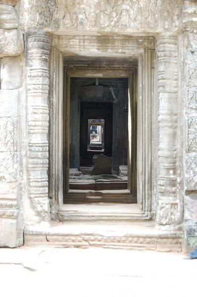 寶劍塔(Preah Khan)入口